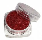 Tűzvörös csillámpor (5 ml) - (B0308)
