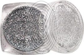 Ezüst csillámpor (5 ml) - (HT37-1 - LY001)