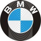 BMW logo egyszínű vagy kétszínű - autómatrica, autódekor