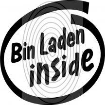 Bin Laden Inside - autómatrica, autódekor