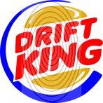 Driftking (3 színű) - autómatrica, autódekor