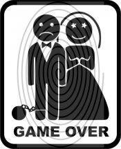 Game Over - autómatrica, autódekor