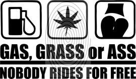 Gas Grass or Ass - autómatrica, autódekor