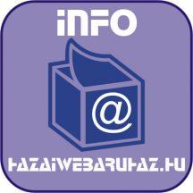 Ballagási meghívó (exkluzív papíron, hajtott, 4 oldalas, 20x9,5 cm)