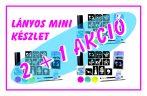 2 + 1 AKCIÓ - LÁNYOS mini csillámtetoválás készlet (15 db-os - 10 sablon / 3 csillámpor)