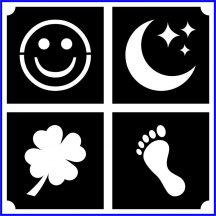 Smile, hold, lóhere, lábnyom  (css_mini4_0026)