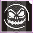 Halloween maszk (csss0099)