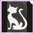 Ülő cica (csss0137)