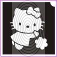 Hello Kitty játszik (csss0161)