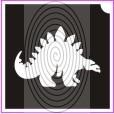 Stegoszaurusz dinó (csss0256)