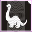 Apatosaurus dinó (csss0259)