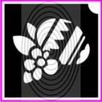 Hímestojás virággal (csss0434)