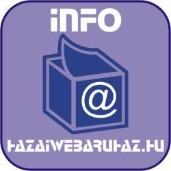 Szülinapi, névnapi meghívó (hajtott, 4 oldalas, 14 x 10 cm)