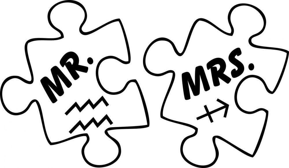 Mr vagy Mrs horoszkóppal - vasalható matrica - Hazai webáruház c93c115bcd
