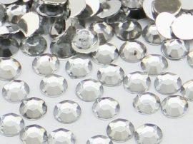 Strasszkő - 2 mm ezüst színű - 20 db