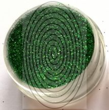 Fűzöld csillámpor (5 ml) - (HT30 - LB600)