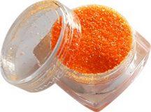 Sötétebb, erős neon narancssárga csillámpor (5 ml) - (S0504)