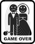 Game Over - autómatrica, autódekor
