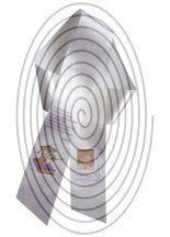 Ballagási szalag - 5 cm széles - ~ 100 cm